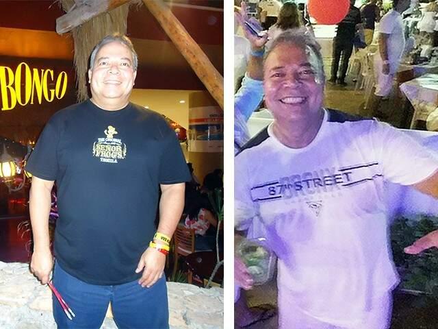 Antes e depois - Foto Divulgação
