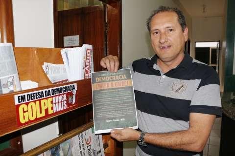"""Em Dourados, movimento contra """"golpe"""" será à tarde, com passeata na avenida"""