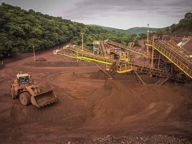 Mineradoras de Corumbá são alvo de investigação do MPF (Foto: Divulgação)