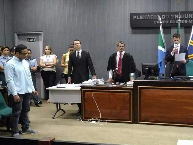Cristhiano Luna de Almeida foi condenado em 24 de novembro do ano passado (Foto: (Foto: Kleber Clajus)