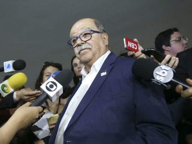 O presidente da Abcam (Associação Brasileira dos Caminhoneiros), José da Fonseca Lopes. (Foto: Valter Campanato/Agência Brasil)