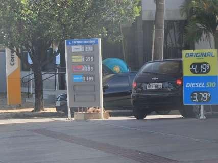 Litro da gasolina e do etanol deve subir até R$ 0,05 a partir de sábado