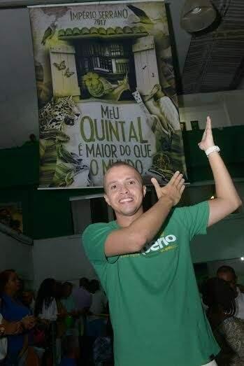 Marcus, carnavalesco da Império Serrano (Foto: Diego Mendes/ Setor 1)