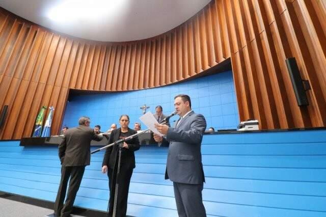 Projeto de Márcio Fernandes foi aprovado na sessão desta quinta-feira (02), na Assembleia (Foto: Divulgação/ALMS)