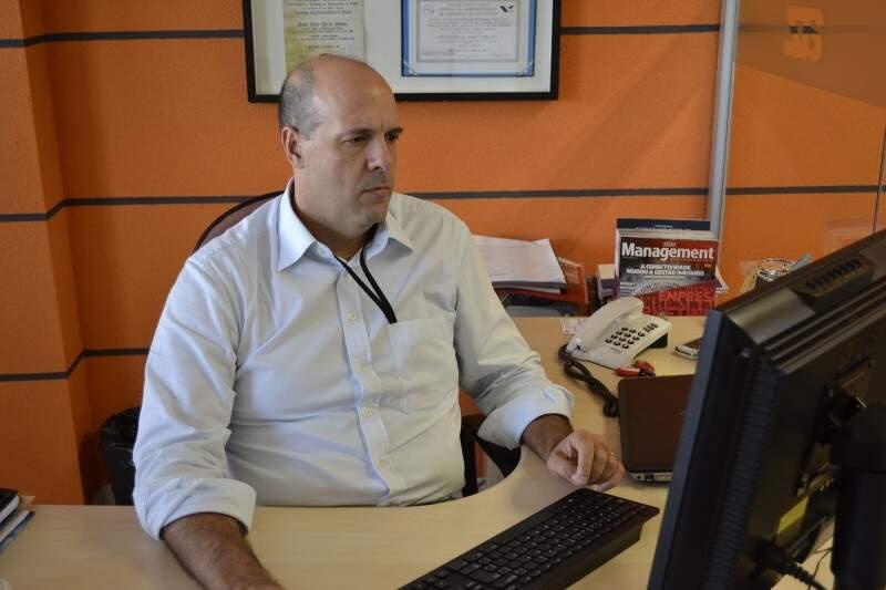 Paulo Sorato lembra que com a internet o mercado das empresas de software não tem limites (Foto: Nicholas Vasconcelos)