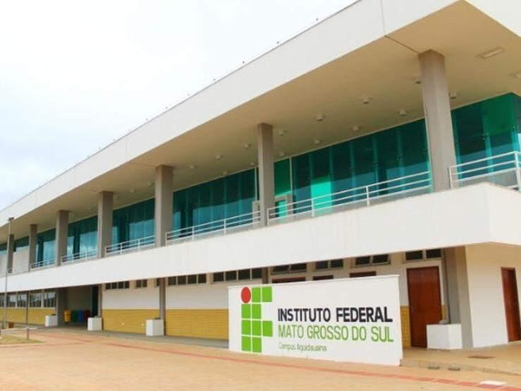 Há oportunidades também no campus de Aquidauana (Foto: reprodução/Dourados Agora)