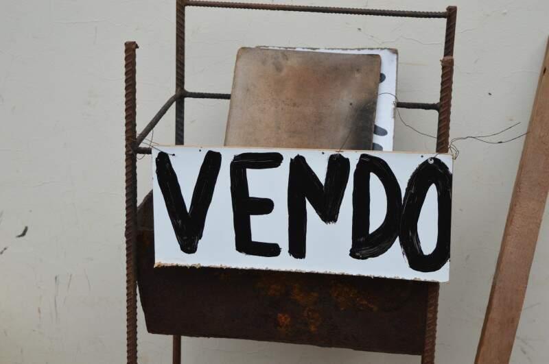 Churrasqueira também está à venda. (Foto: Pedro Peralta)