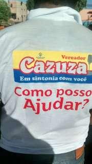 Disfarçada, campanha eleitoral já está nas ruas de Campo Grande