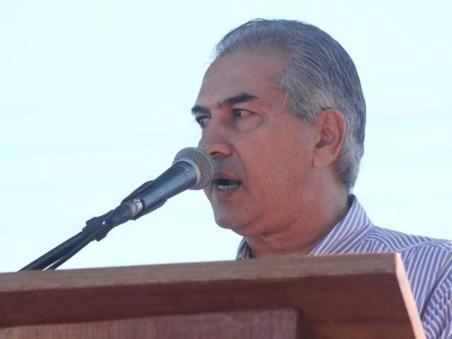 Governador de MS, Reinaldo Azambuja, PSDB. (Foto: Marcos Ermínio/Arquivo).