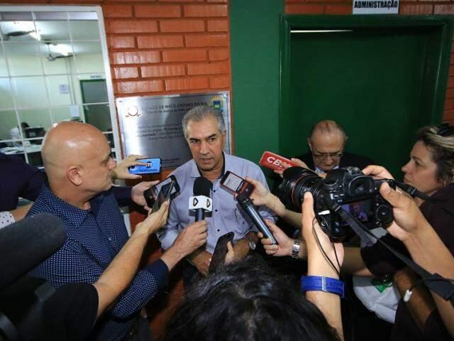 Governador Reinaldo Azambuja (PSDB) vai cumprir agenda em gabinete itinerante (Foto: Edemir Rodrigues - Governo MS)