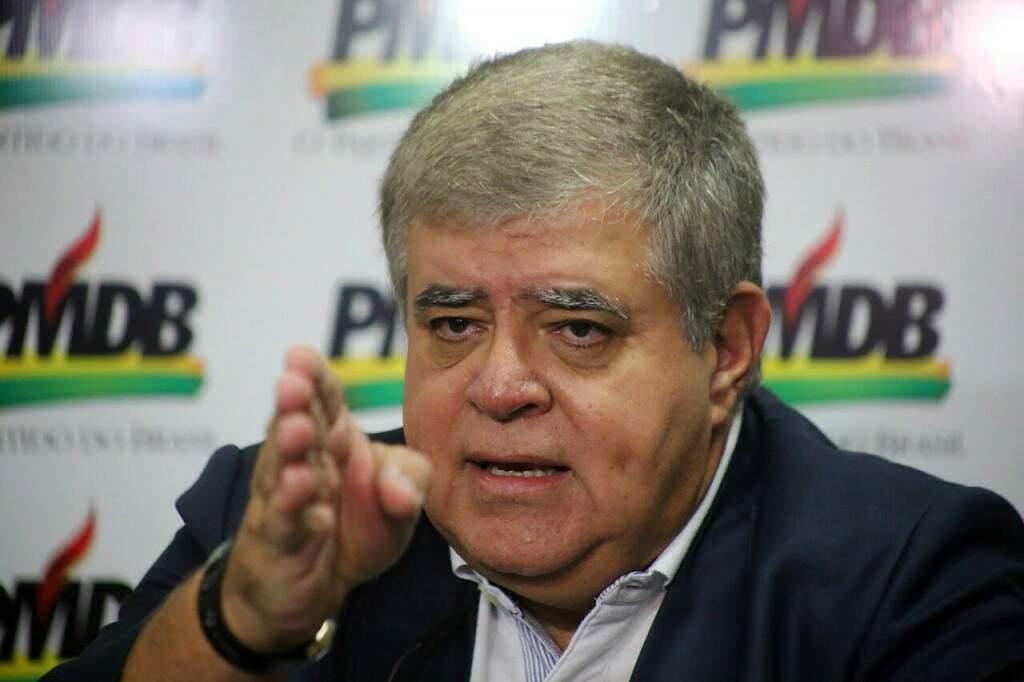 Carlos Marun disse que bloco de aliados de Puccinelli não será pequeno (Foto: Marcos Ermínio)