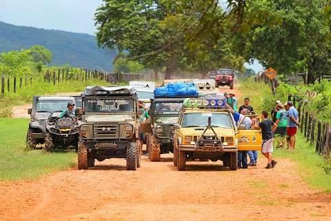 Trilha Pantanal-Coxim desafia aventureiros em percurso de 300 km