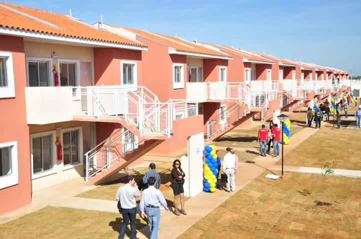 Grupo mexicano entregou 92 casas nesta quinta-feira. (Foto: João Garrigó)