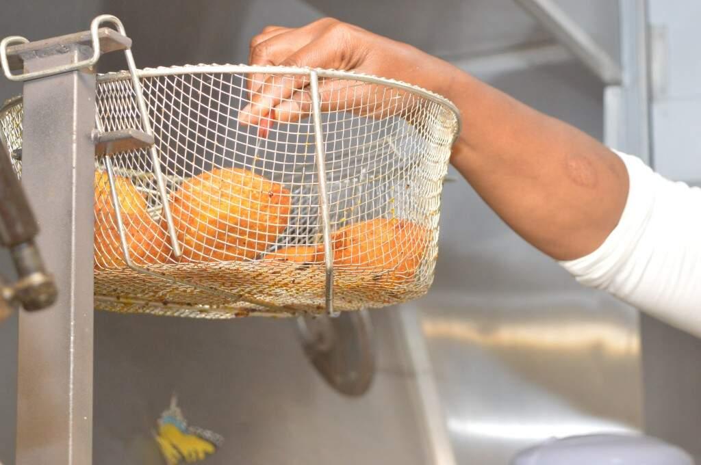 Variedade no cardápio ficou mesmo por conta do Acarajé (foto: Kimberly Teodoro)