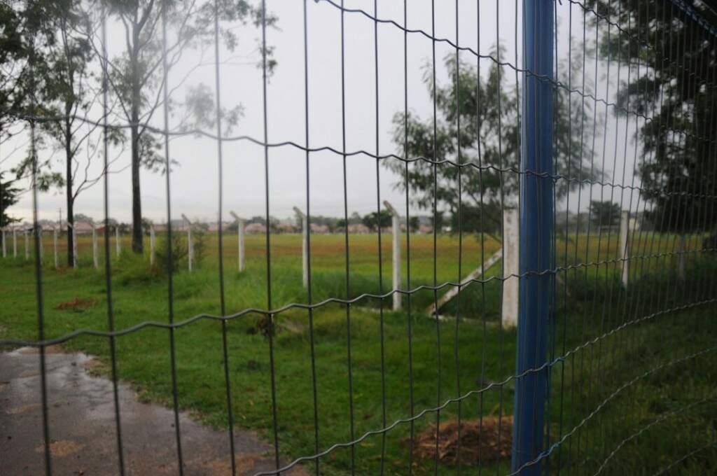 Clube tinha seis campos para atender times profissionais e da categoria de base (Foto: Paulo Francis)