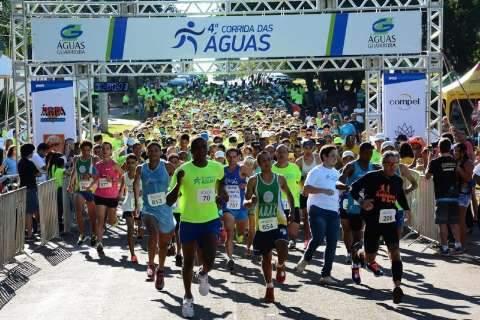 Corrida que celebra dia mundial da água vai reunir mil participantes na Capital