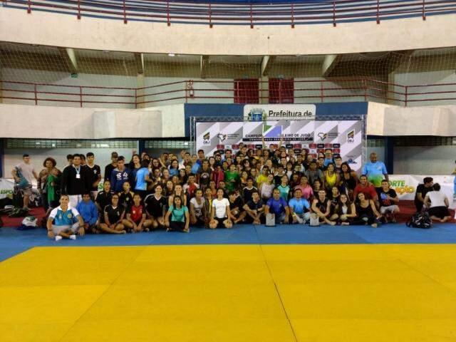 Delegação de Mato Grosso do Sul foi a vencedora da competição regional em Anápolis (Foto: Divulgação)