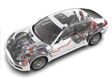 Porsche Panamera S E-Hybrid será mostrado no Salão do Automóvel do SP