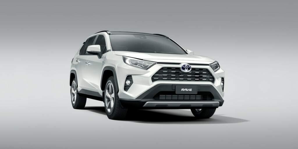 Toyota apresenta nova geração do RAV4 híbrido