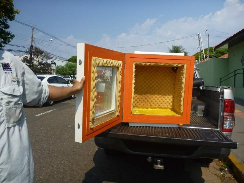 A utilização de caixas acústicas é proibida pelo Ibama e é considerada crime de maus tratos. (Foto: Divulgação)