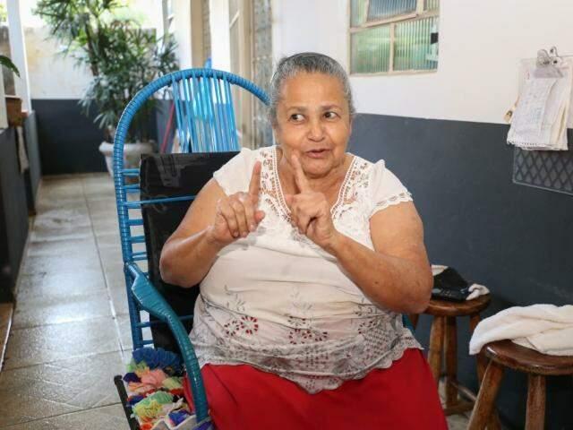 Os moradores forçaram o nome, lembra Delurce, filha do segundo morador do bairro. (Foto Paulo Francis)