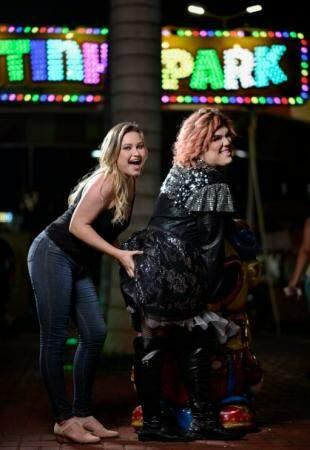 E a diversão foi garantida com a famosa Andreia Mocreia. (Foto: Luciano Muta)