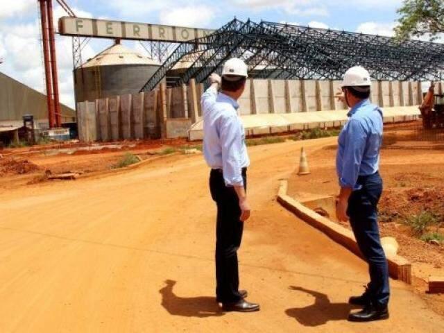 Unidade fica na Ferronorte e teve capacidade de transporte de grãos ampliada de 600 mil para 2 milhões de toneladas. (Foto: Semagro/Divulgação)