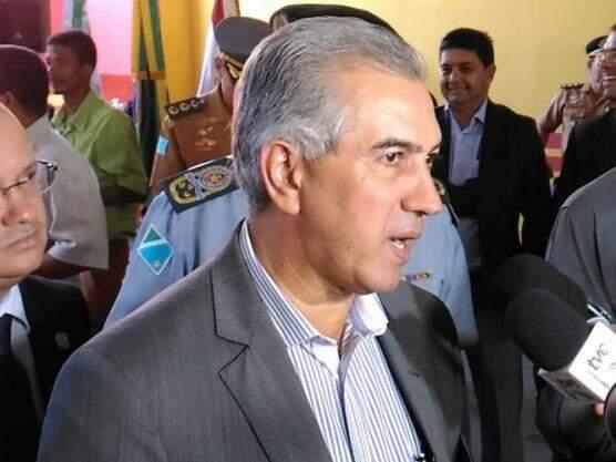 Governador do Estado, Reinaldo Azambuja, PSDB. (Foto: Kleber Clajus).