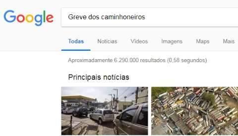Buscas por temas relacionados a greve e combustíveis crescem 256% no Google