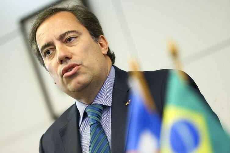 O presidente da Caixa Econômica Federal, Pedro Guimarães (Foto: Marcelo Camargo/Agência Brasil)
