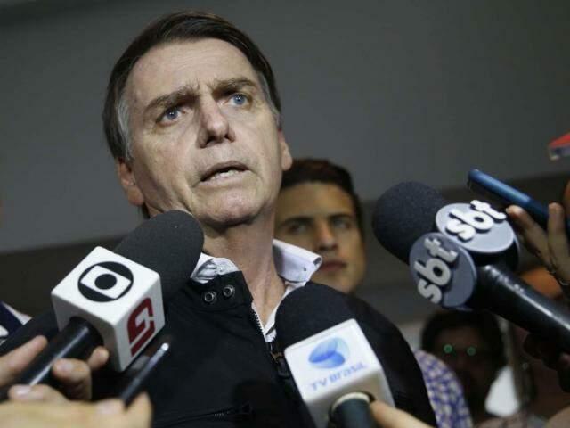 Jair Bolsonaro aparece em primeiro lugar na pesquisa de segundo turno (Foto: Fernando Frazão/Agencia Brasil)