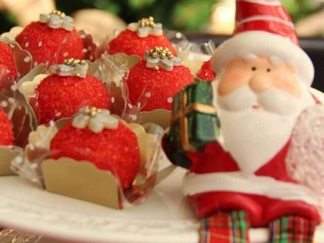 Docinhos de Natal da Mais Q Pão. (Foto: Divulgação)