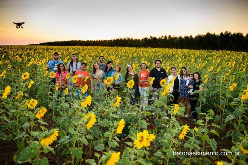 Grupo de amigos do Sopa de Pedra. (Foto: Beto Nascimento)