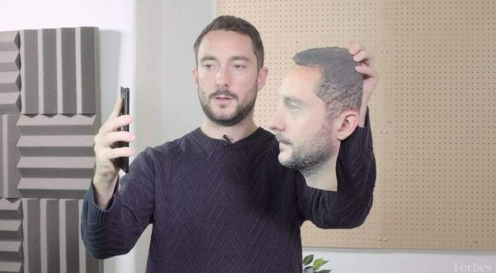 Face impressa em 3D mostra a ineficiência
