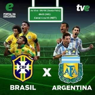 TV Educativa mostrará jogos do Brasil na Austrália para MS com exclusividade