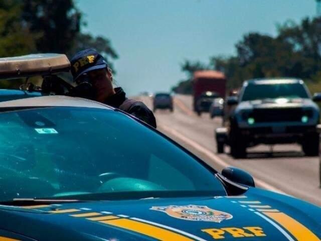 Operação da PRF foi realizada ao longo dos 3,6 mil quilômetros de estradas federais (Foto: Divulgação)