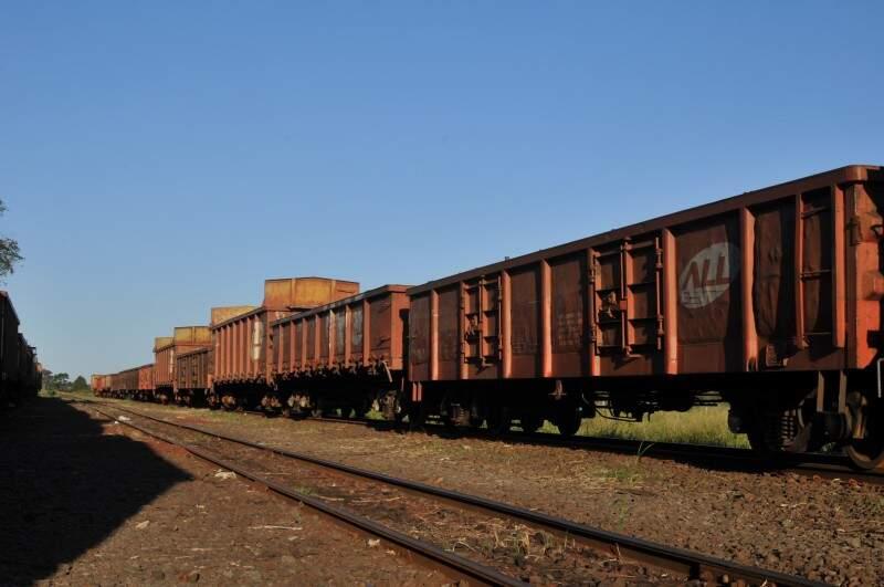 Ferrovia está com atividades paralisadas desde o ano passado. (Foto: Alcides Neto/Arquivo)