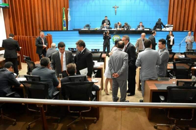 Assembleia Legislativa de MS. (Foto: Roberto Higa/ALMS)