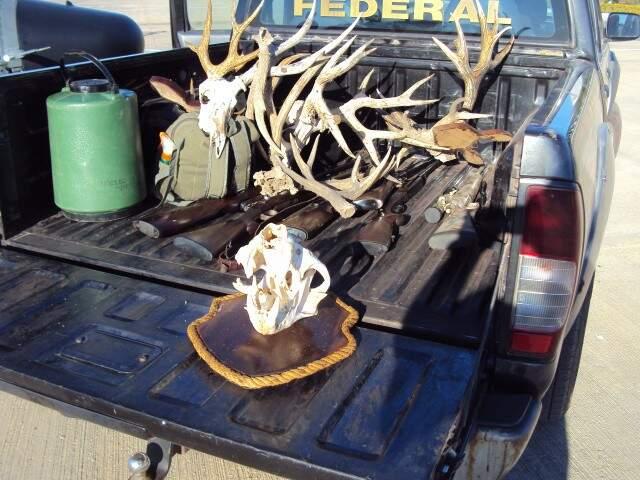 Material apreendido em fazenda pela Polícia Federal no ano de 2011.