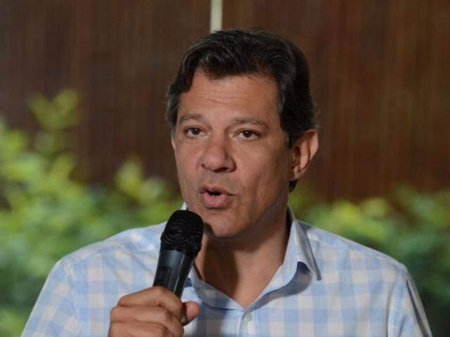 Fernando Haddad está na disputa pela cadeira da Presidência (Foto: Rovena Rosa/Agência Brasil)