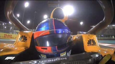 Em despedida de Alonso, Hamilton encerra temporada com vitória em Abu Dhabi