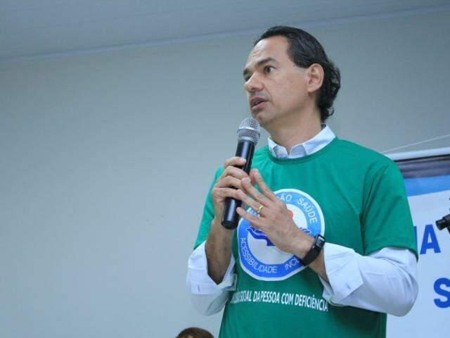 Prefeito de Campo Grande, Marquinhos Trad (PSD). (Foto: Marina Pacheco/Arquivo).