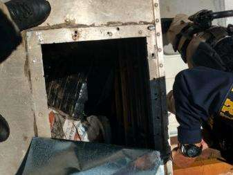 PRF desconfia de odor e descobre caminhão baú com 785 kg de maconha