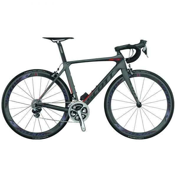 Bicicleta da marca Scott. Modelo custa  R$  54 mil. (Foto: Divulgação)