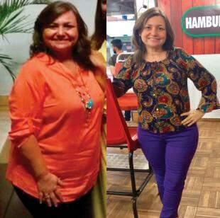 Antes e Depois Silvia Ribas - Foto Divulgação