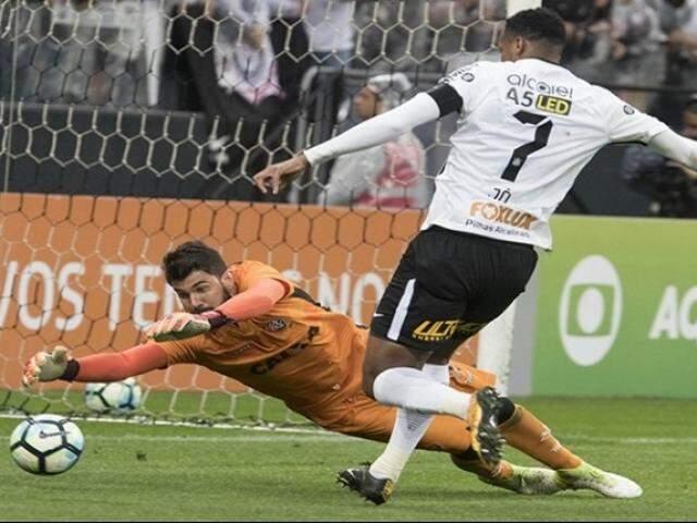 Apesar da derrota, Corinthians segue líder no Campeonato Brasileiro (Foto: Daniel Augusto Jr. / Agência Corinthians)