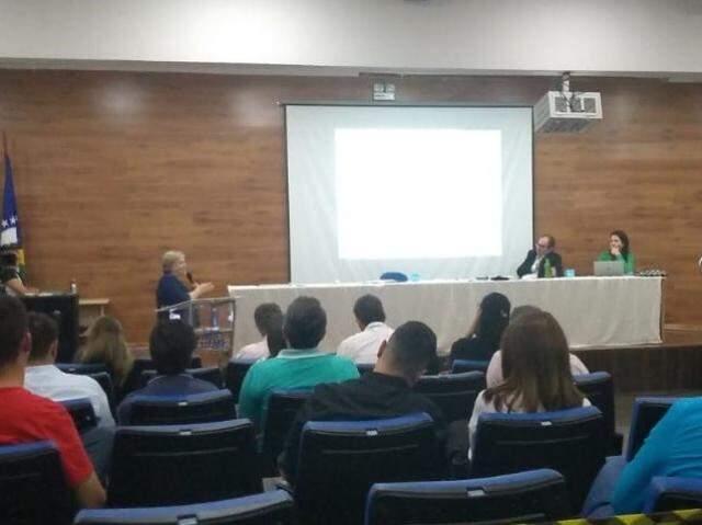 Reunião do Conselho Universitário foi realizada nesta quinta-feira (Foto: Tainá Jara)