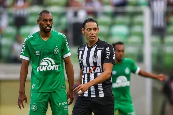 Atlético-MG e Chapecoense empataram por 3 a 3 (Foto: Bruno Cantini / Atlético)
