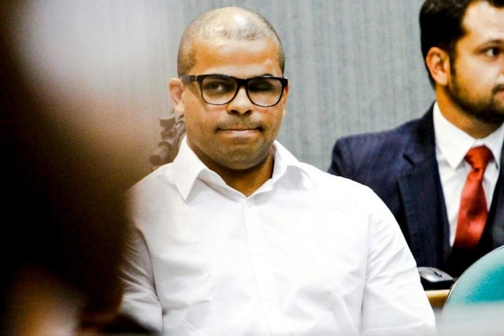 Johnny Teodoro não quis assistir ao júri (Foto: Saul Schramm)