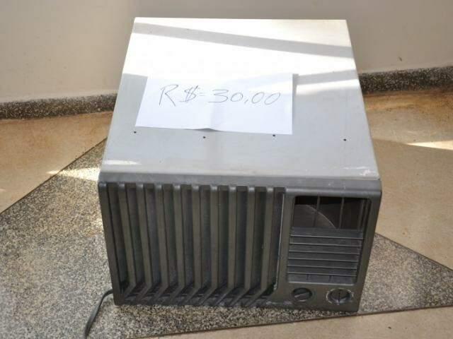 Ar condicionado por R$ 30,00, organizadores garantem que funciona.